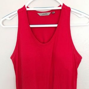 Pink Racerback Maxi Athleta Dress WITH POCKETS!!!